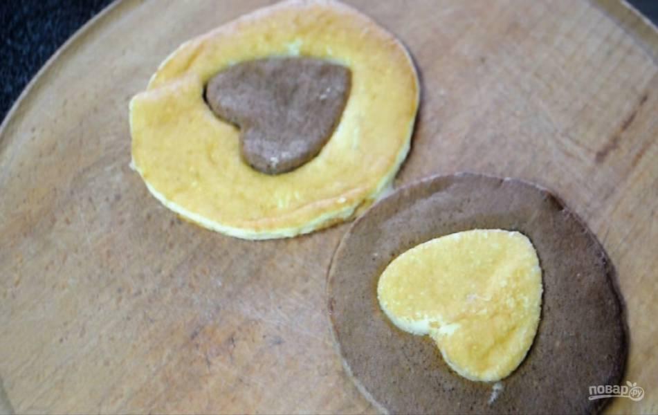 Панкейки-сердечки ко Дню всех влюбленных