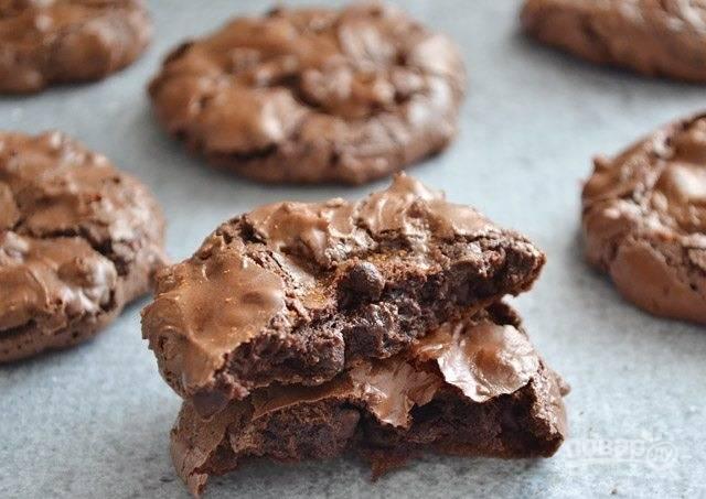 Шоколадное печенье с перцем