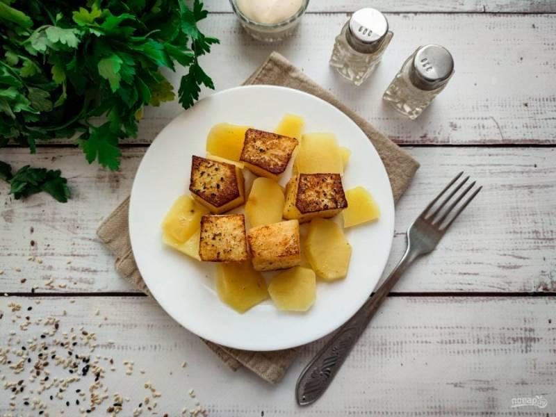 """Картофель """"Фондан"""" готов. Приятного аппетита!"""