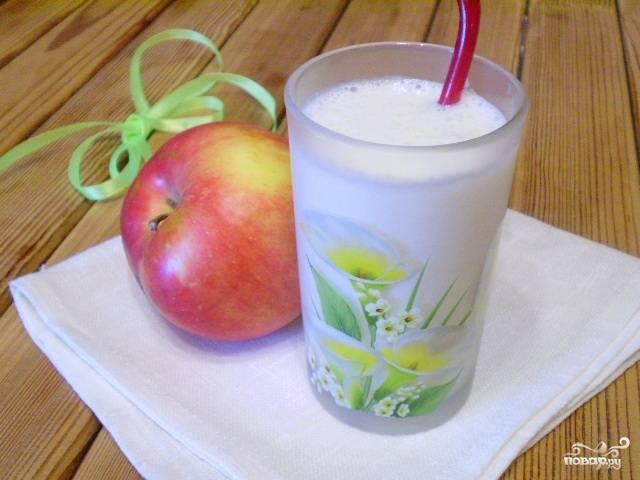 Смузи яблочный