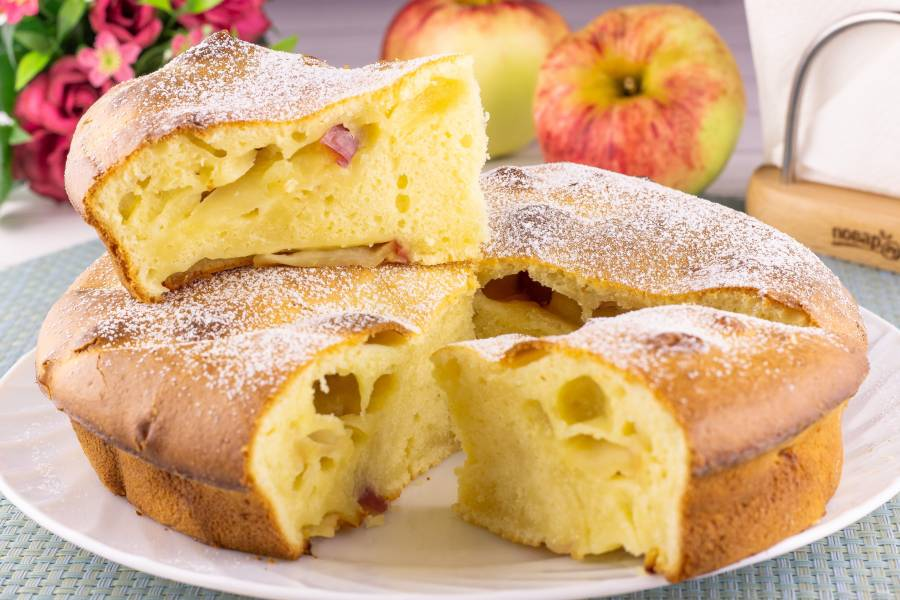 Яблочный пирог Анастасии Скрипкиной