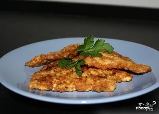 5.Перед вами прекрасное быстро приготовленное блюдо. И в записной книжке появился новый рецепт: как приготовить куриное филе быстро и вкусно.