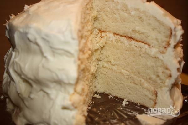 Торт сметанный классический