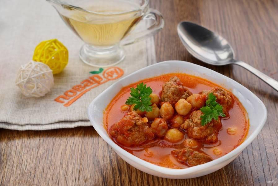Турецкий суп Эдна