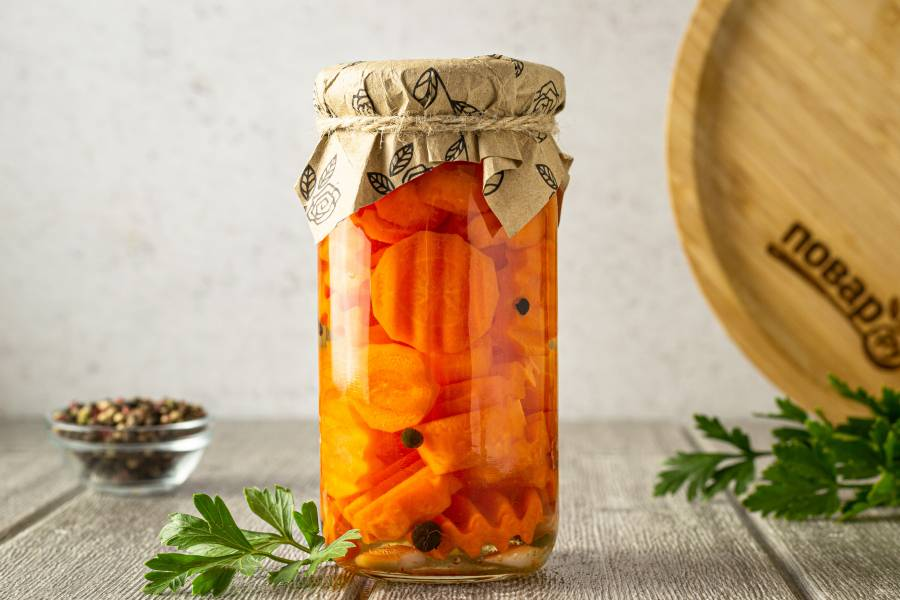 Маринованная морковь на зиму