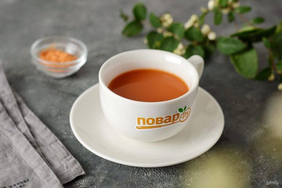 Кофе из моркови готово!