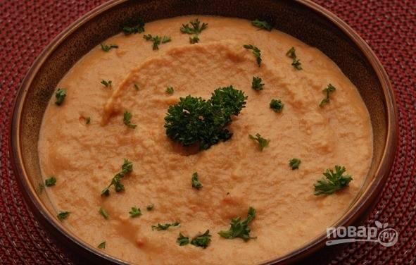 Хумус с паприкой