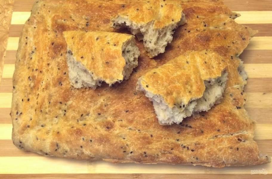 7. Полностью остудите хлеб на решетке. Приятного аппетита!