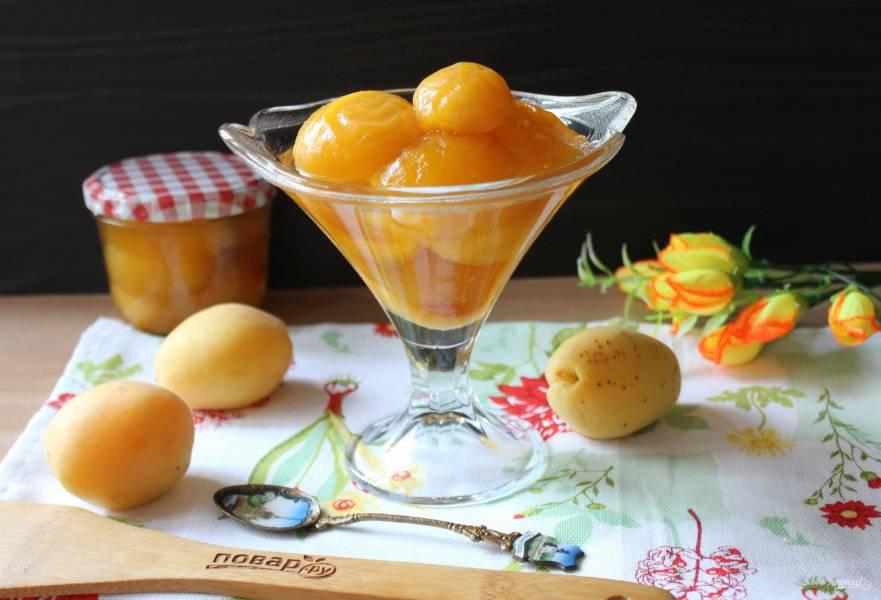Варенье из абрикосов с лимонной кислотой