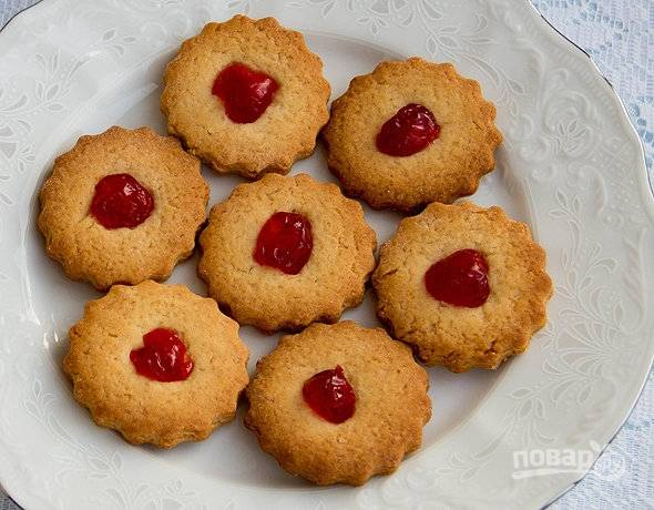 Смотрите, чтобы печенье не подгорело.