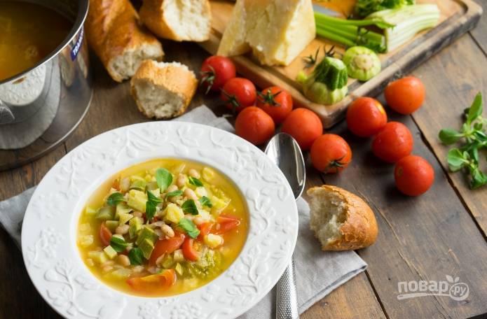 """Итальянский суп """"Минестроне"""""""