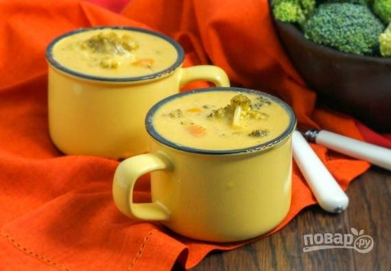 Полезный суп
