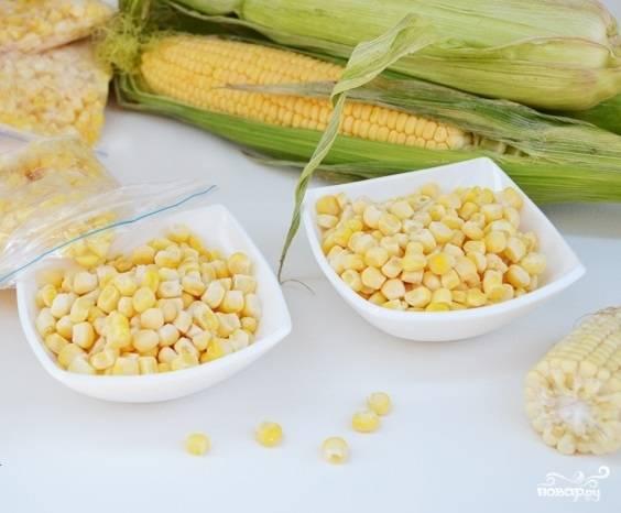 Молодая кукуруза на зиму