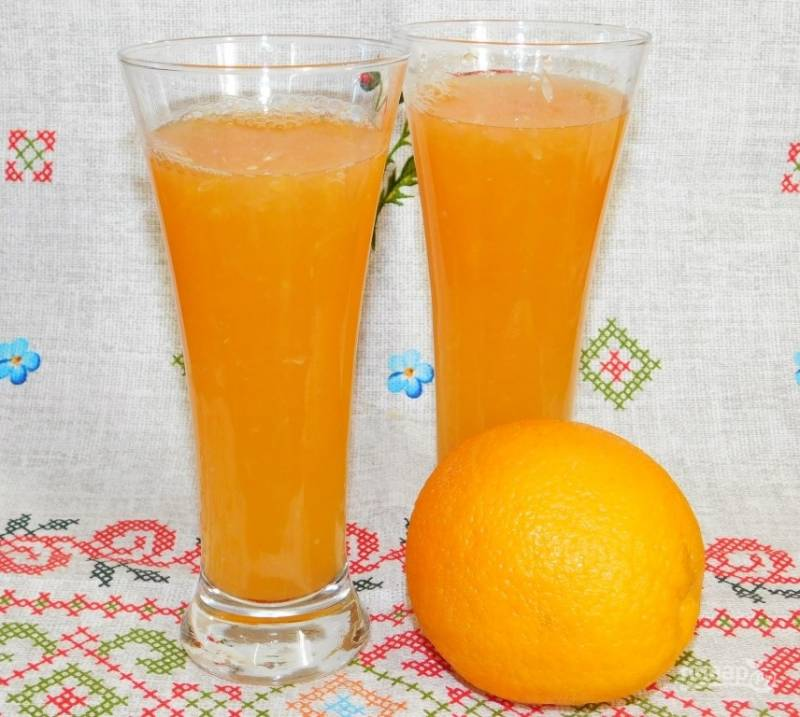 Напиток из грейпфрута с мятой