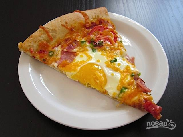 Пицца к завтраку