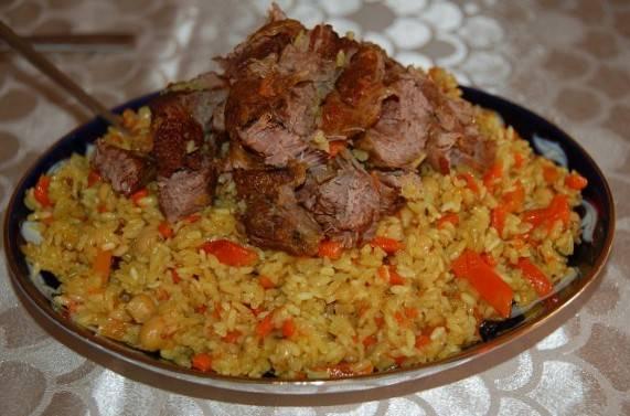 4. Если рис кажется бледноватым, советую добавить немного карри, когда будете солить и перчить. Желаю удачи!