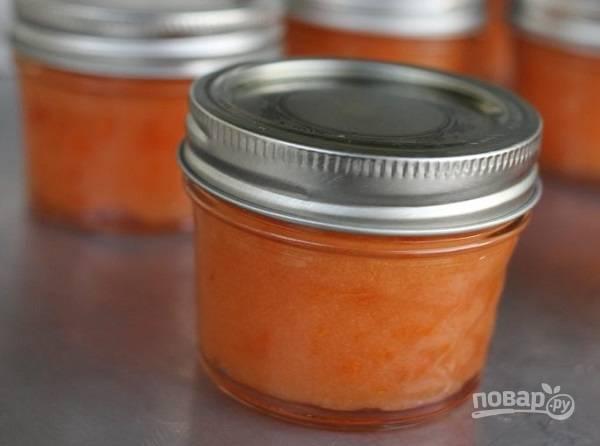 Варенье из абрикосов (заготовка в заморозку)