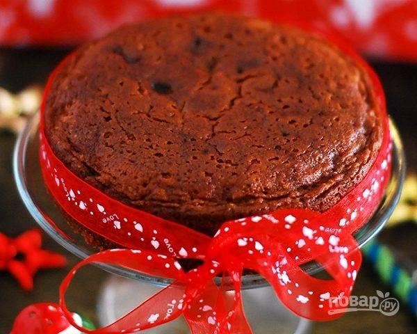 Рождественский пирог с повидлом