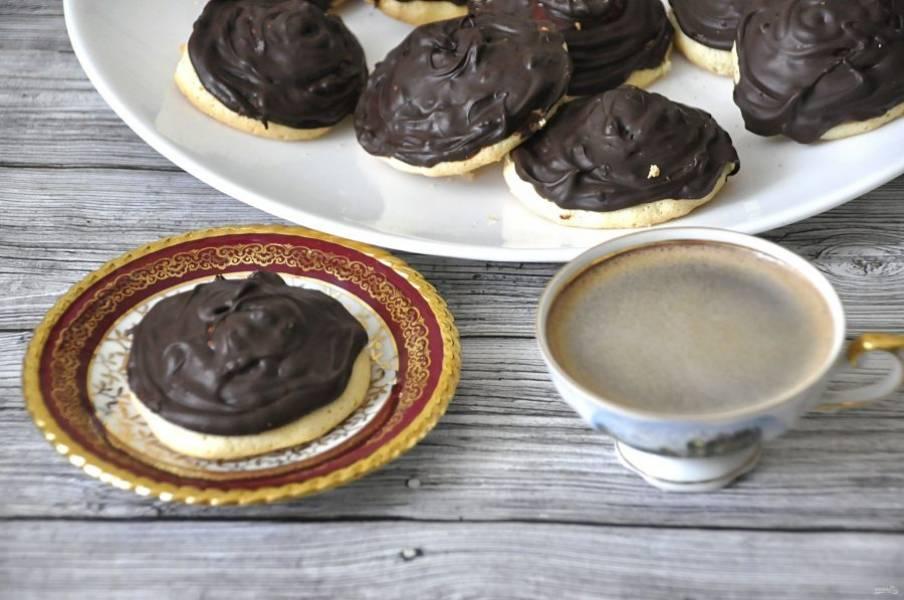 """Приготовьте кофе и наслаждайтесь вкусным печеньем """"Причуда"""", приготовленным по собственному рецепту с тем джемом, который нравится вам. Приятного аппетита!"""