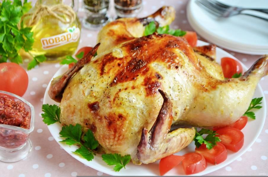 Цыпленок по-грузински
