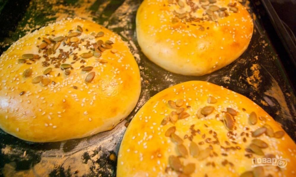 Узбекские лепешки в духовке (простой рецепт)