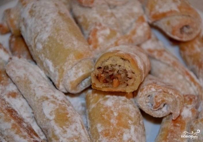 Ореховые трубочки