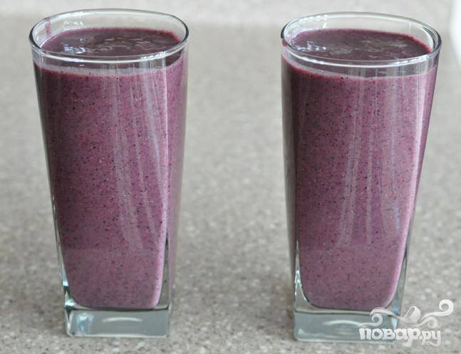 6.Разлить по бокалам и подавать отдельно или с простым печеньем.