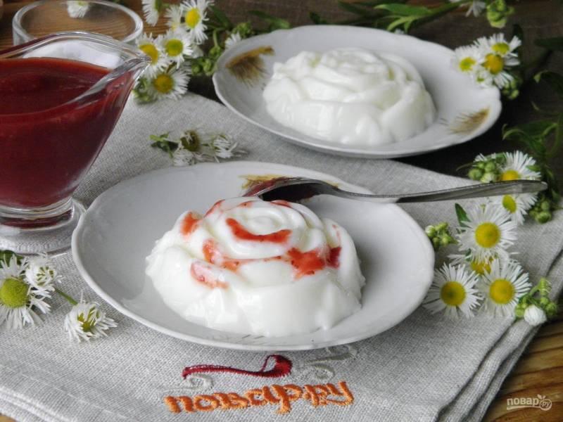 Бланманже, рецепт классический