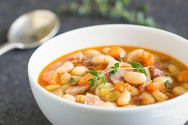 Фасолевый суп классический