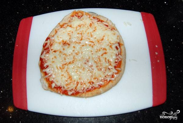 Пицца-минутка в микроволновке