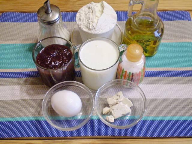 1. Приготовим необходимые продукты.