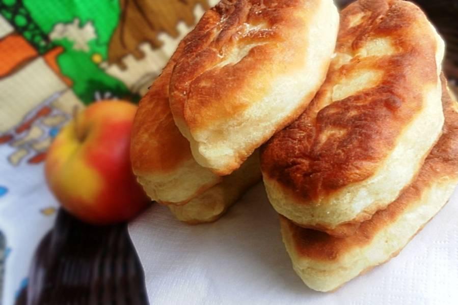 Постные пирожки с картошкой