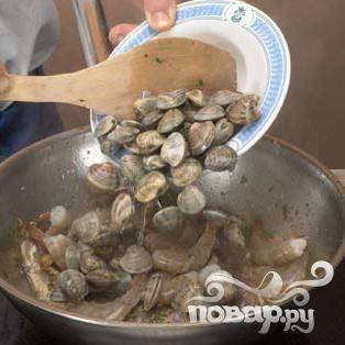 Добавить моллюсков.