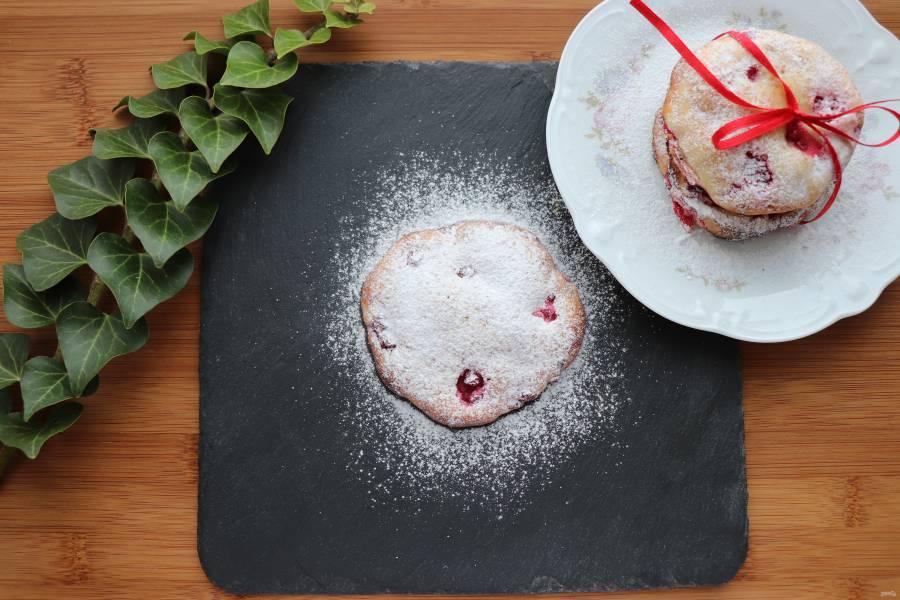 Печенье с ягодами