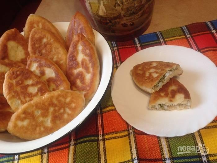 Пирожки с рисом от Бабушки