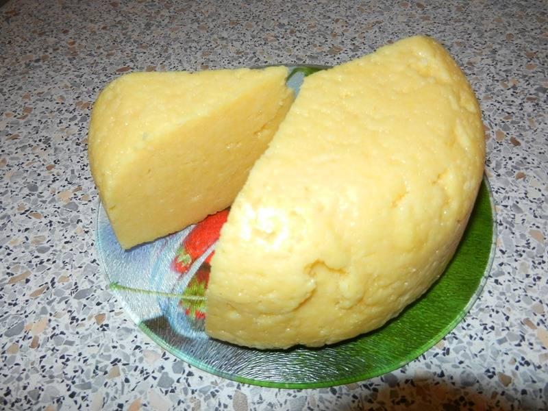 Извлекаем сыр из формы и наслаждаемся! Приятного аппетита!