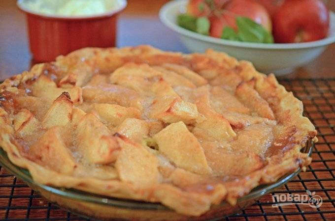 Открытый пирог