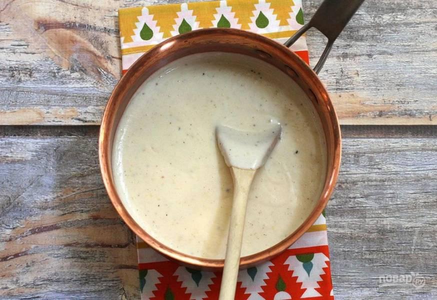 Сливочный соус (оригинальный рецепт)