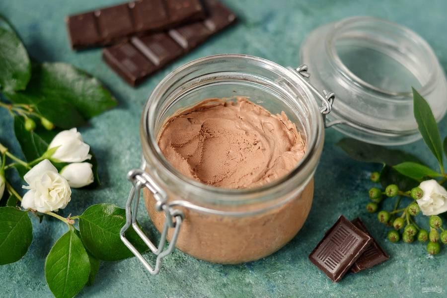 Замороженный шоколадный мусс