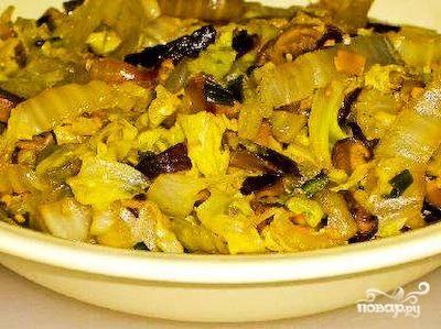 5.Гарнир можно подавать как холодным, так и горячим к мясным или грибным блюдам.