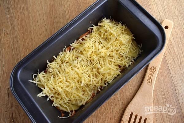 Затем — часть сыра.
