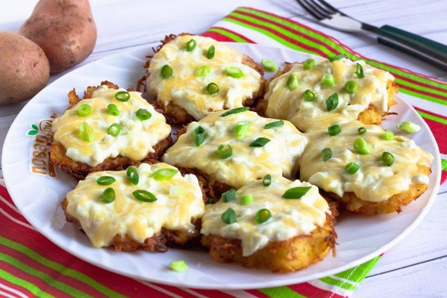 Украсьте свежей зеленью и подавайте к столу! Очень вкусно, как в горячем, так и в холодном виде. Приятного аппетита!