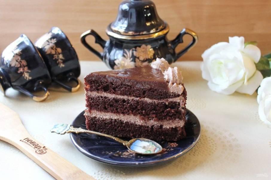 """Чтобы понять насколько вкусный торт """"Шоколадный бархат"""", надо его попробовать. Непередаваемый вкус!"""