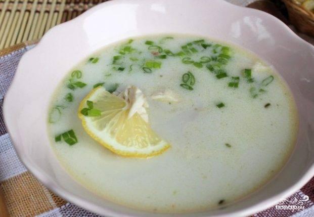 Суп-пюре из цветной капусты с курицей