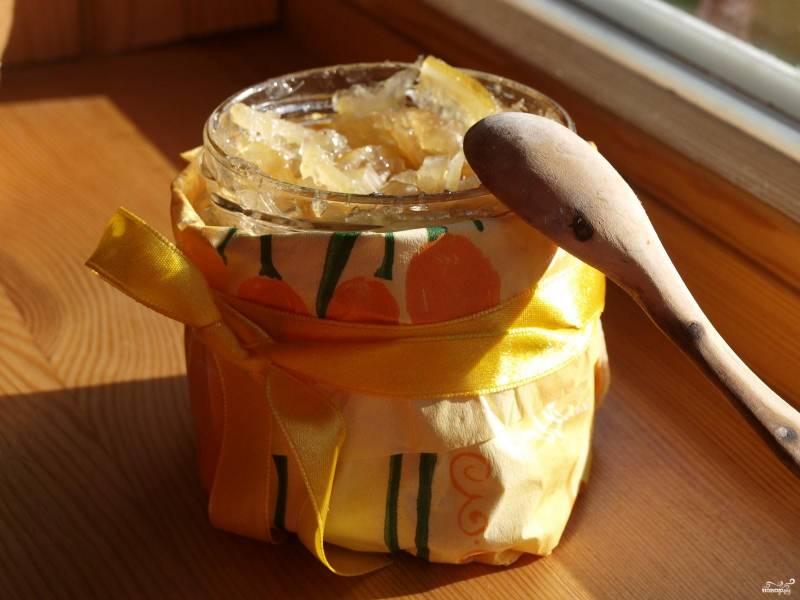 Варенье из лимонов