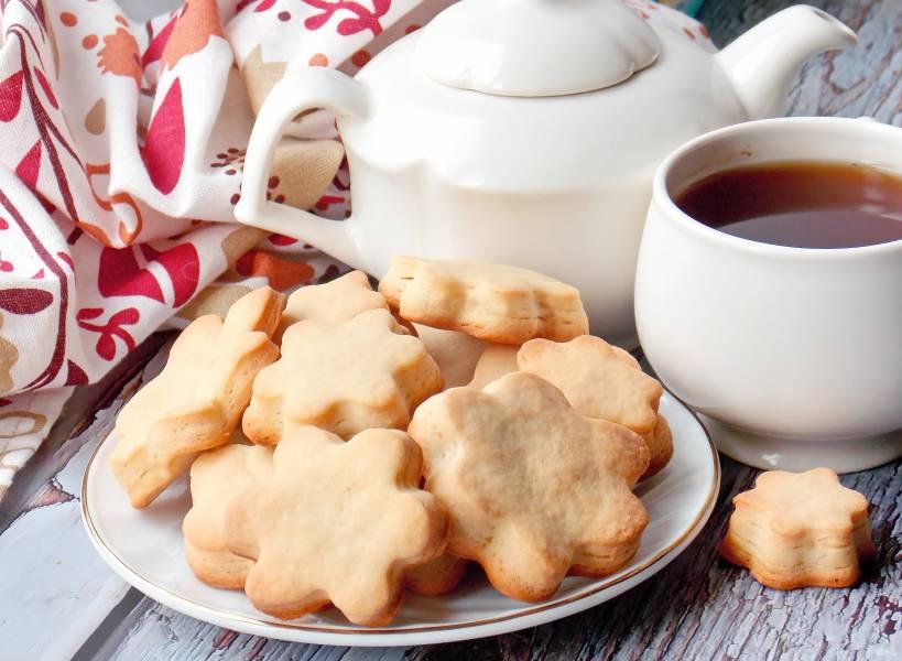 Песочное печенье в хлебопечке
