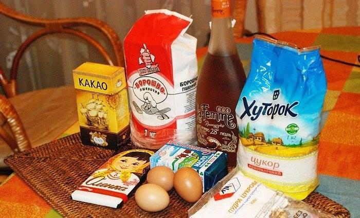 Подготовьте ингредиенты.