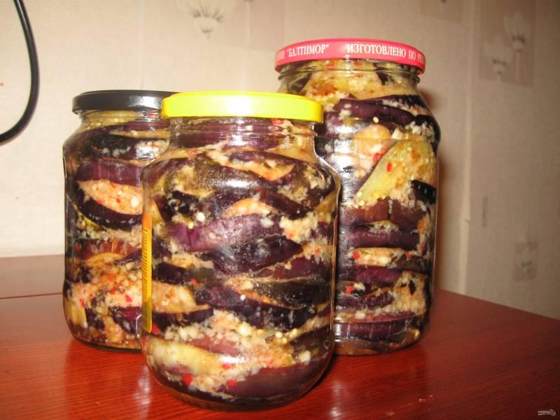 Баклажаны острые на зиму без стерилизации