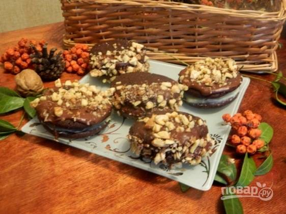 """Печенье """"Шоколадное желание"""" готово. Приятного аппетита!"""