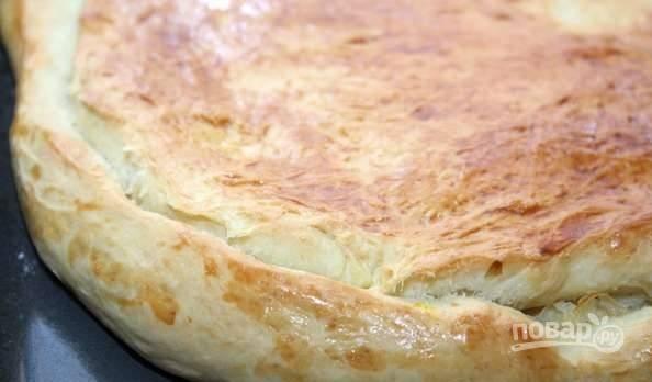 Пирог с капустой готов, приятного аппетита!